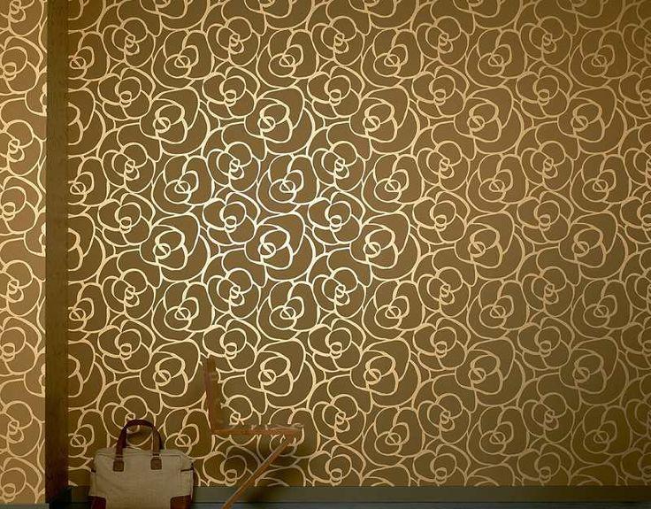 E-color - Tapety na zeď - Tapety na zeď Raffi růže zlatá
