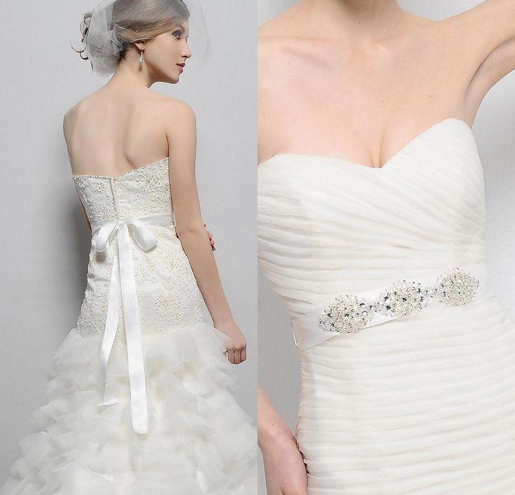 Sparkly Belts for Wedding Dresses - Informal Wedding Dresses for Older Brides Check more at http://svesty.com/sparkly-belts-for-wedding-dresses/