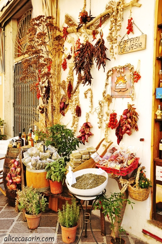 Sicily, stopped in a shop like this to get some cheese, wine