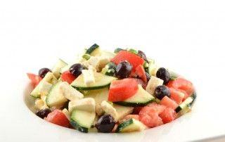 Courgette salade met feta