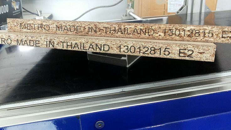 Coding and Marking on MDF Board or Fibreboard