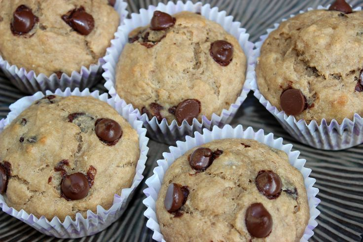 Banana choc chip muffins. These are so easy to make and so tasty to eat!! Must try. Sistermixin'