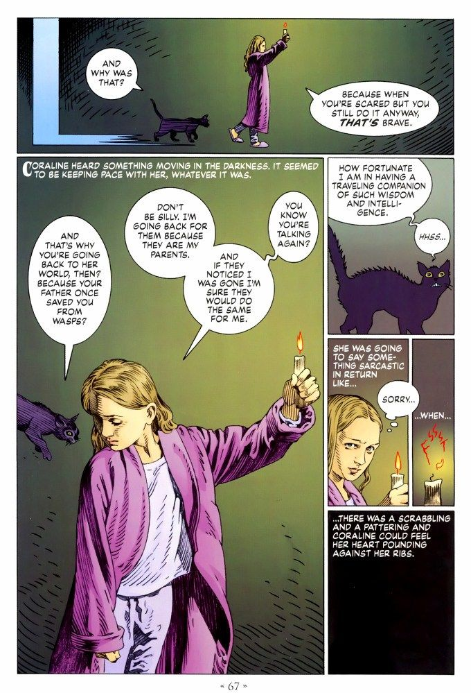 Page 67, Coraline graphic novel online