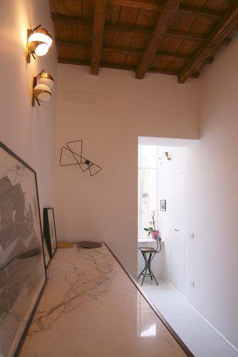 Hallway 2  Private appartment in the heart of #Rome Collaborator with Manfredi Pistoia Architetti