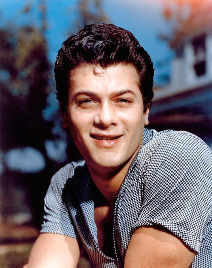 Tony Curtis (Bernard Schwartz) (June 3, 1925 - September 29, 2010) American actor, father of actress Jamie Lee Curtis & Kelly Curtis.