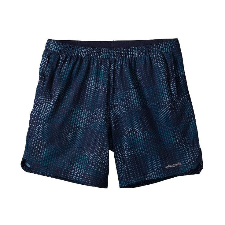 Patagonia Men's Nine Trails Unlined Shorts - Shadow Pop Chop: Navy Blue SDNY.