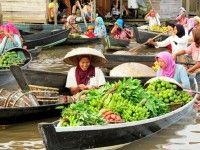 Drijvende markt Banjarmasin #Kalimantan #Borneo #Indonesie