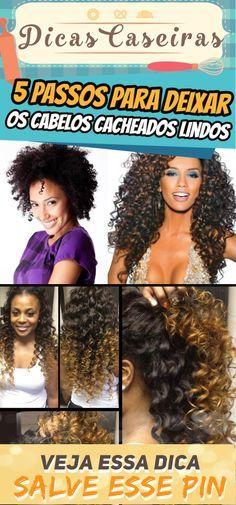 5 passos para fazer cabelos cacheados bonitos   – Mary artes