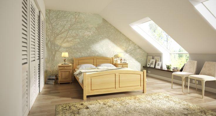 Aranżacja zestawu sypialnianego. Podczas pracy staramy się oddać klimat i atmosferę przytulnej sypialni.  Jasne światło miękka tonacja dobry design, wszystko to sprawia że mebel jest atrakcyjny dla potencjalnego klienta.