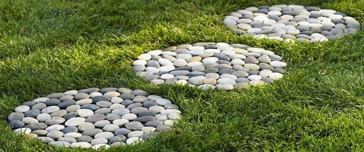 Фото галерея: дорожки из камня