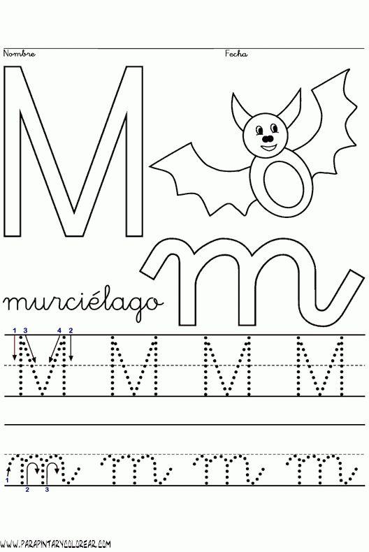 17 best images about trazos en preescolar on pinterest - Letras para dibujar ...