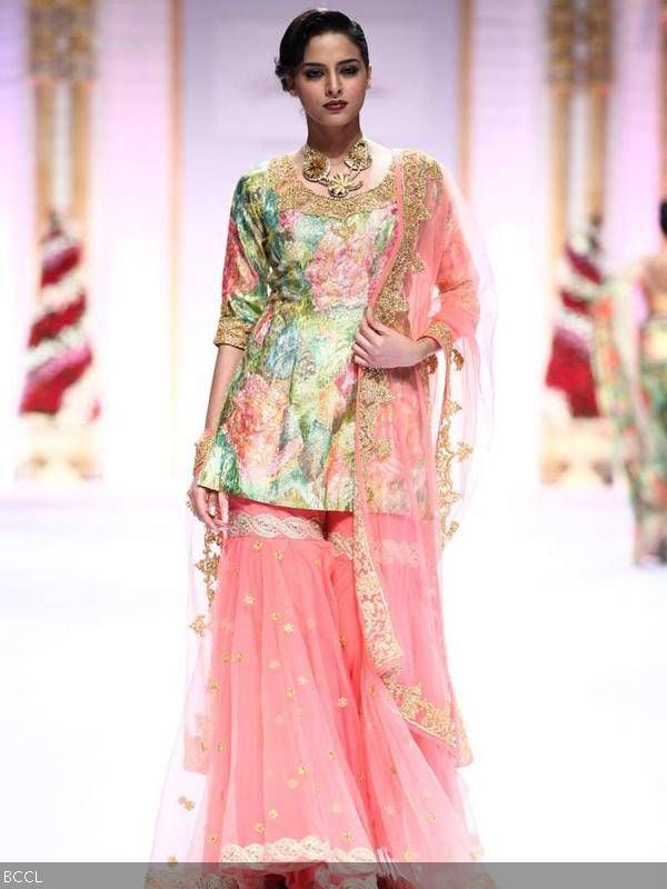 Pallavi Jaikishan http://www.fdci.org/Member.aspx?mid=2120588273 @ Aamby Valley India Bridal Fashion Week, #IBFW (Dec) 2013