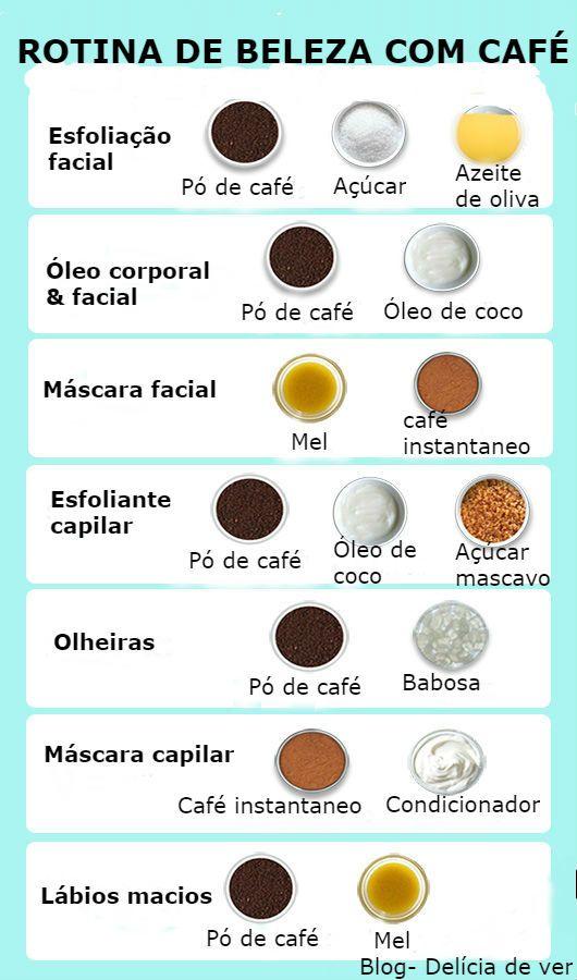 MELHORES DICAS DE BELEZA USANDO CAFÉ
