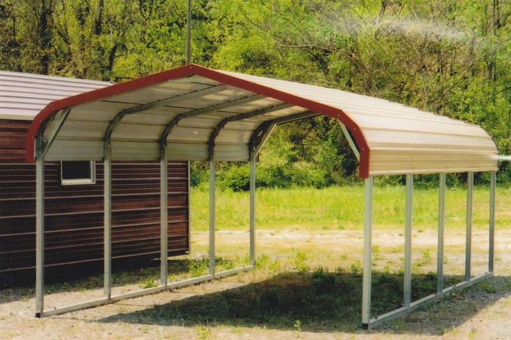 This Is A 12x21 Standard Carport