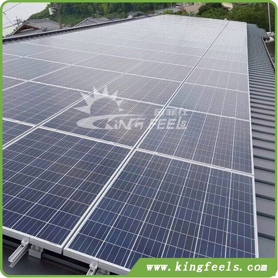 Metal Roof Solar Mounting Systems Rails Factory China Metal Roof Solar Roofing