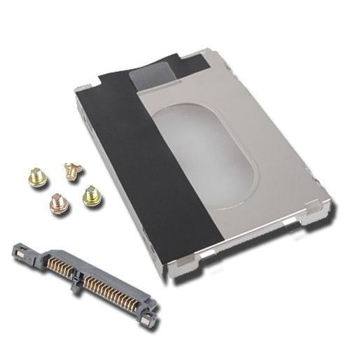 Hp Pavilion Dv6000 Hard Drive Caddy Connector Hdd For. Item Description Item condition: 100% brand new and High Quality. The hard drive caddy locks into your system for safety and security Can expand your system and storage capacity with an additional hard drive Interface: SATA Dimension: 108 x 73 x 10...