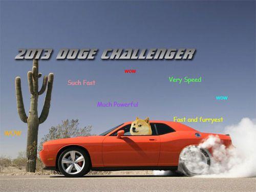 Doge Challenger.