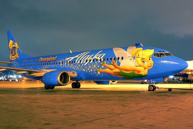 Alaska Airlines - Boeing 737-490 (N791AS) - Tinkerbell - SAN by Silver1SWA (Ryan Pastorino),  Flickr