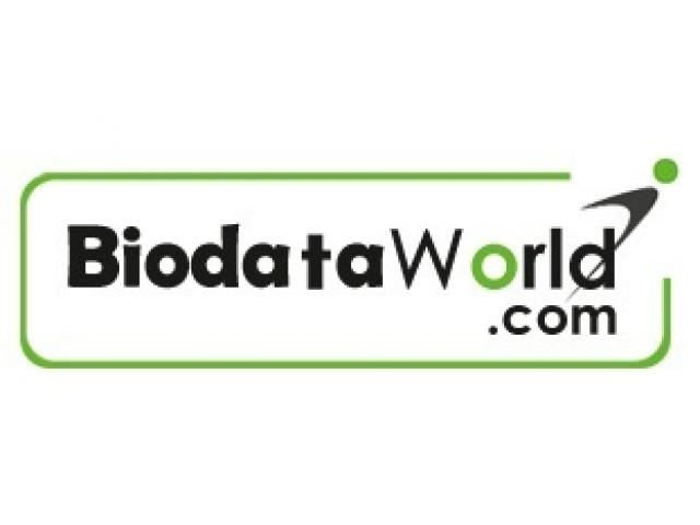 Best placement agency resumes online database - biodataworld.  BiodataWorld is a Business to Business (B2B) online recruitment concept in India, that aims at providing the most relevant, well searched instant resumes of the employable candidates at the lowest cost to employers for their recruitment and hiring needs, at a click of a single button within a period of 24* hrs. only (72 hrs on weekends). It provides database of candidates to recruiters at the very base of the HR pyramid.