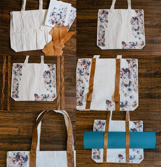 always rooney: Yoga Mat Bag   DIY