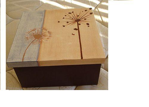 33 best cajas images on pinterest decorated boxes - Cajas de plastico para almacenar ...