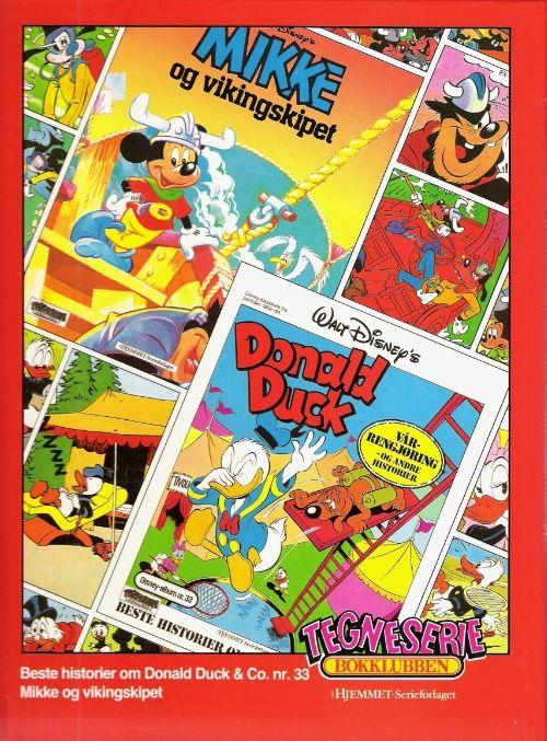 """""""Mikke og vikingeskipet ; Donald Duck : vårrengjøring og andre historier"""" av Disney"""