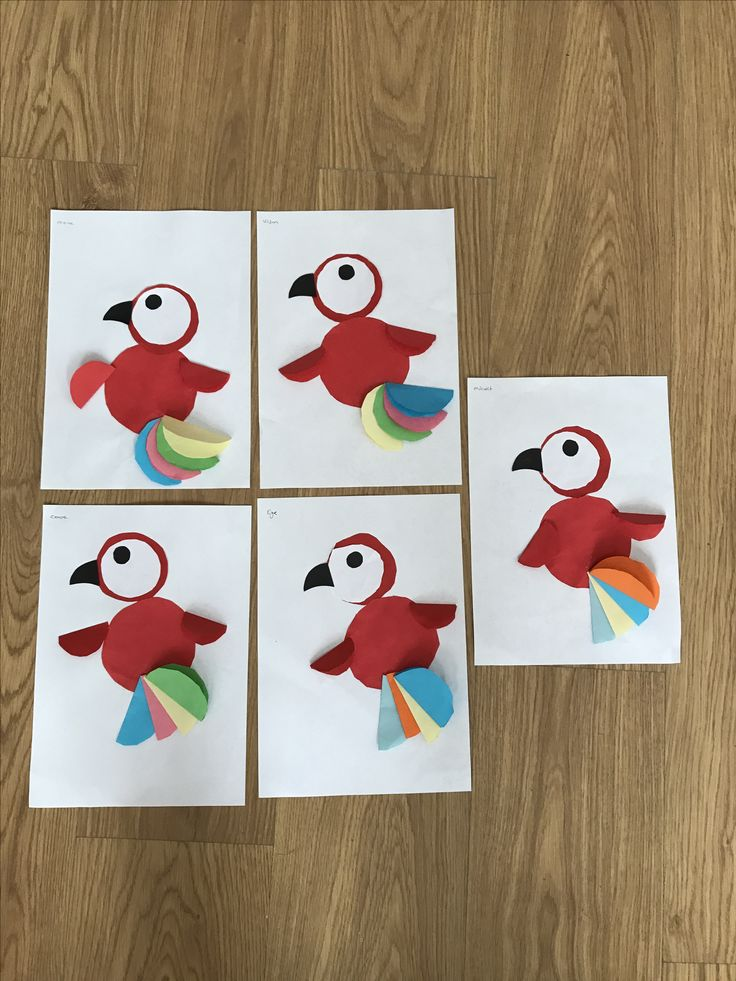 #okulöncesi#sanat#etkinlik#papağan