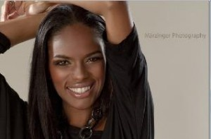 The stunning Congolese Super Model Noella Coursaris - follow us on twitter at @CongoDRConline