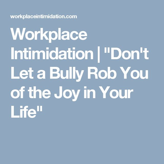how to tell if your boss is bullying you