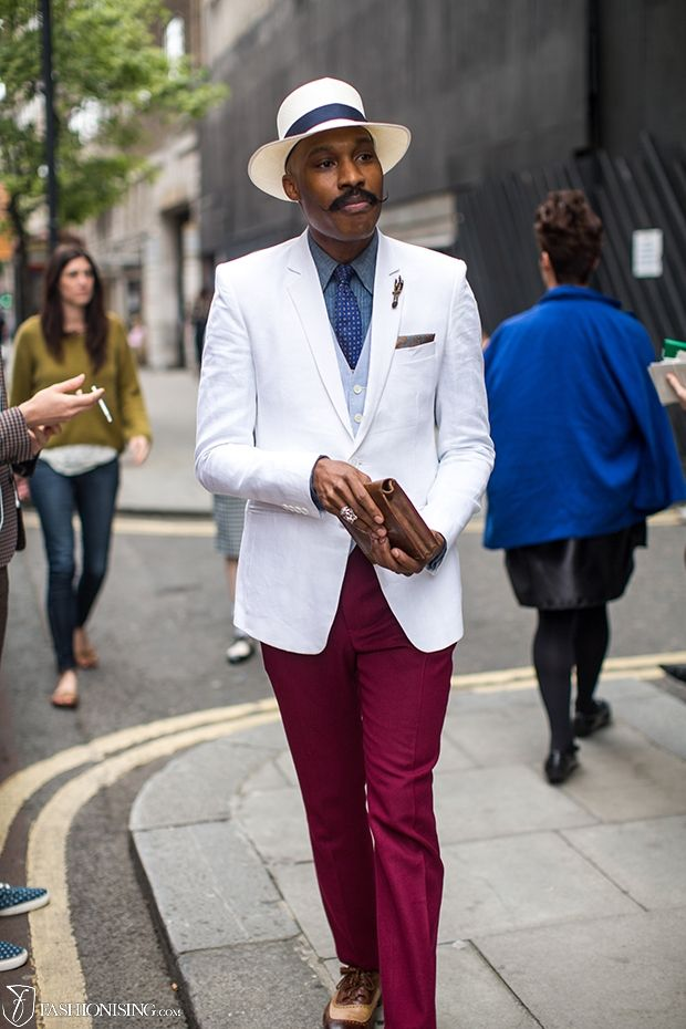 As Seen On: 15 street style looks from London men's: day 1 - Fashionising.com