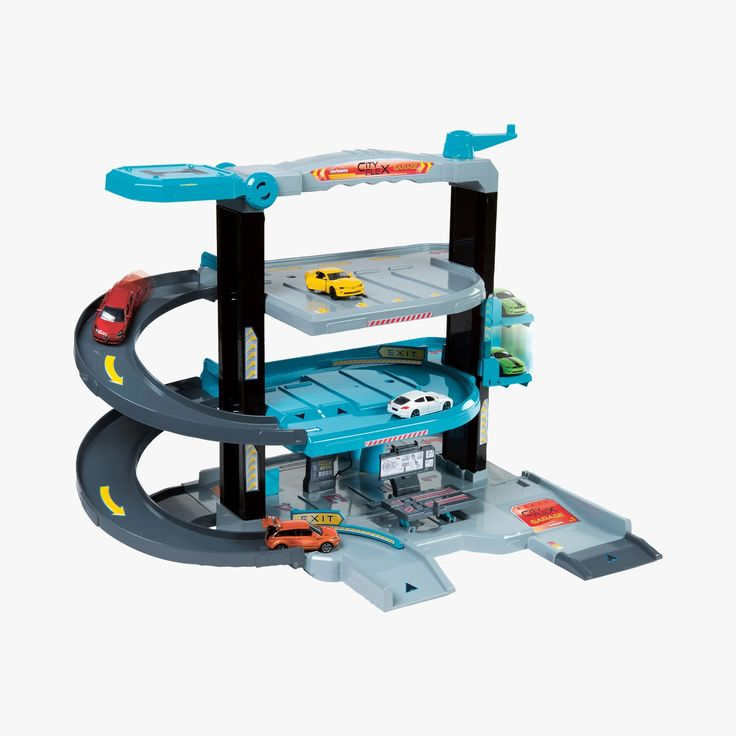 Garage 'City-flex' - MAJORETTE #LeBonMarche #Jouet #Jouets #Toy #Toys #noel #christmas #xmas #santa
