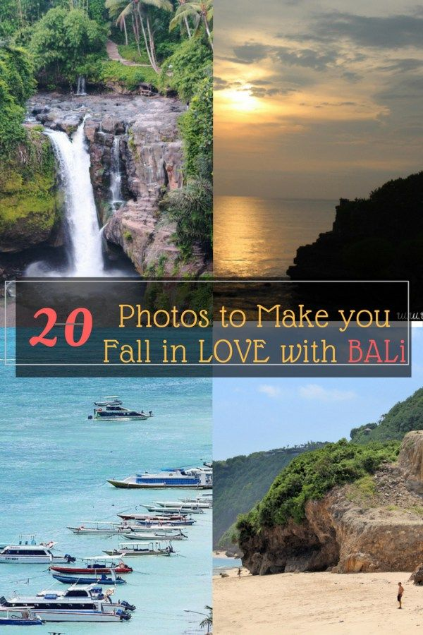 20 Photos to Inspire You to Visit BALI
