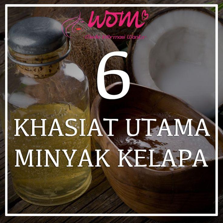 khasiat minyak kelapa dara - wom.my