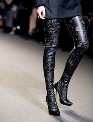 thigh high boots thigh highs and high boots on