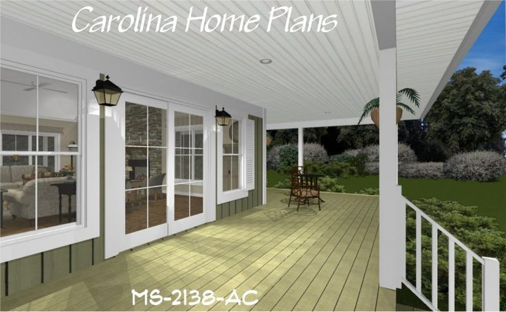 70 best images about house plans with porches on pinterest for Cabin house plans covered porch