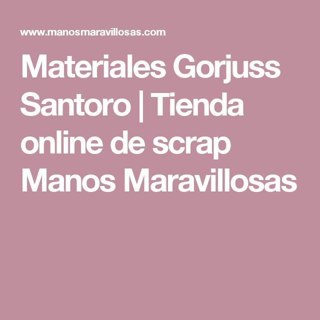 Materiales Gorjuss Santoro | Tienda online de scrap Manos Maravillosas