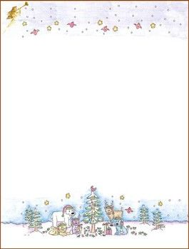 {Free} printable Christmas Stationary
