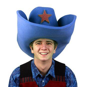 22 best Clown Hat images on Pinterest | Clown hat, Costume ... 10 Gallon Cowboy Hat Front