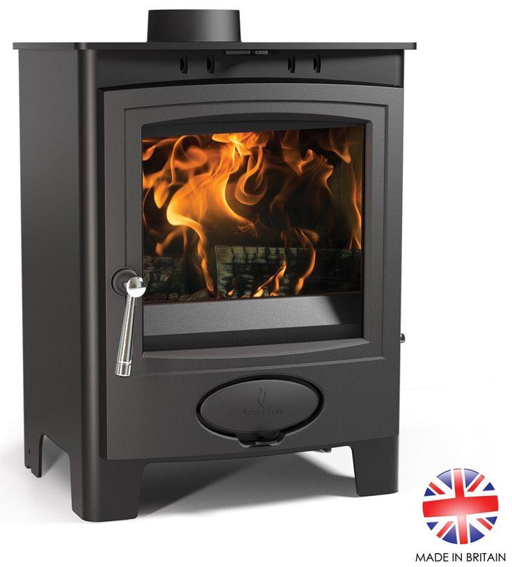 5kW Ecoburn Plus 5 Flexi Fuel Stove | Buy Modern Multi Fuel Stoves Online | UK Stoves