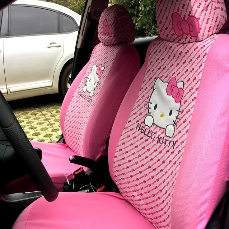 25 best ideas about pink car interior on pinterest sexy - Hello kitty car interior accessories ...
