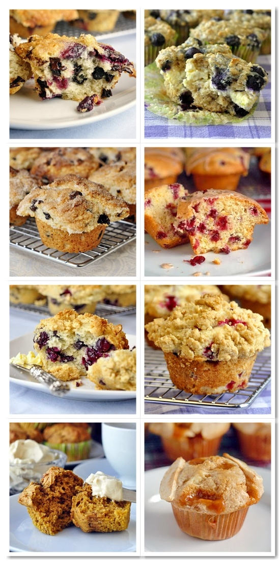 What's better at a great weekend brunch than fresh muffins, straight from the oven? Drop by our Muffin Board for lots of our tried and tested recipes to make all muffin lovers drool.