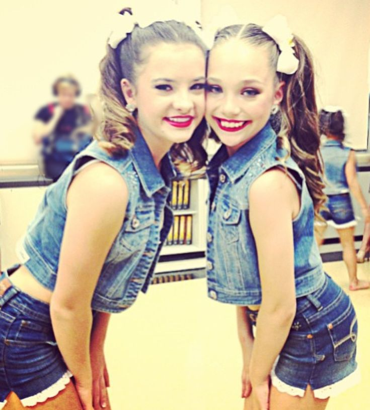 Brooke and Maddie. They look so much alike in this picture!!!!!!