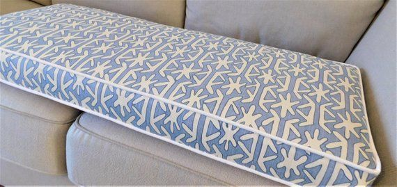 Custom Cushion Covers Piping Box Cushions Foam Insert Bench Etsy