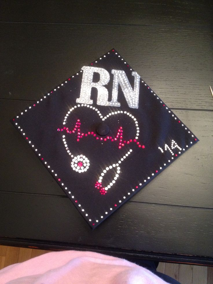 RN graduation cap | Nursing stuff | Pinterest | Graduation ...