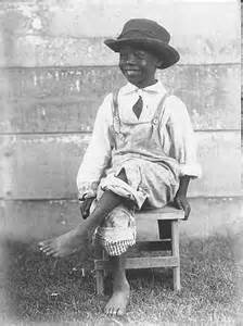 Unidentified African American Child, ca. 1920.