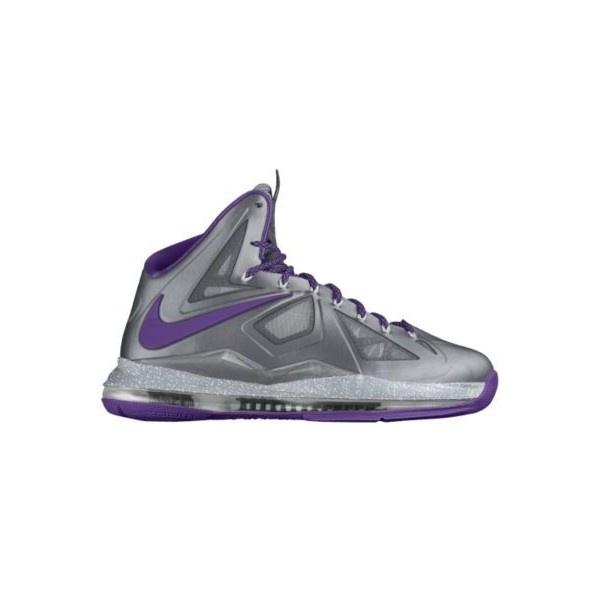 Nike LeBron X iD Custom Women\u0027s Basketball Shoes - Purple, 15.5 ($220) ?