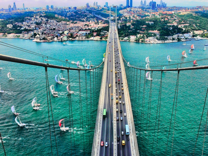 Fatih Sultan Mehmet Bridge | by Durukos Yachting