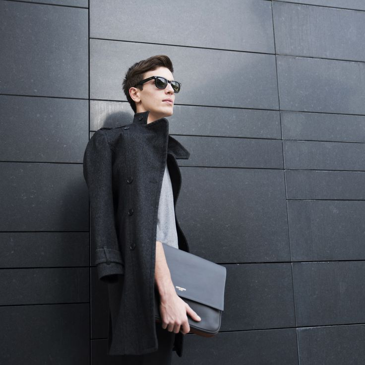 """The """"Aston Martin by FPM"""" Collection """"Timeless"""" includes handcrafted pieces like this leather clutch entirely #MadeInItaly. #Luxury #Design #Accessories #AstonMartin #Business #Travel #FPM_Milano"""