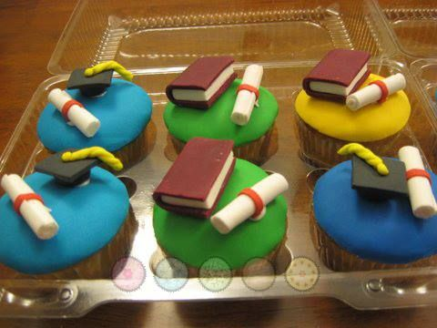 Cupcakes graduación