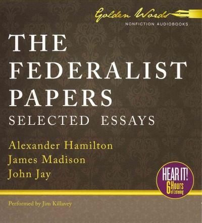 "series essays defending constitution With the constitution needing approval james madison and john jay weighed in with a series of essays under the pseudonym ""publius,"" arguing that the."